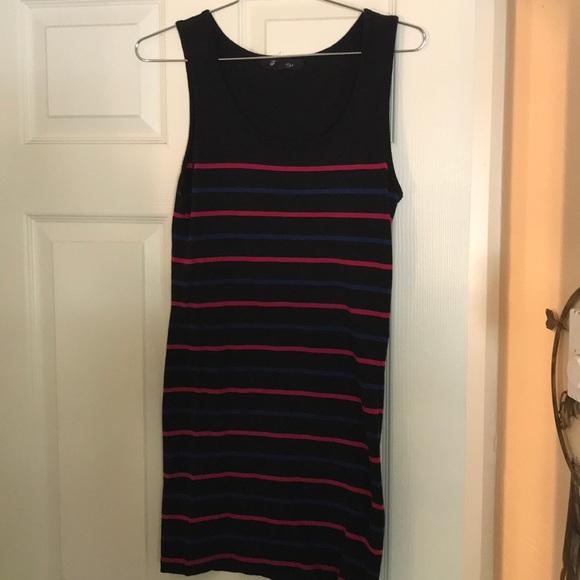 Forever 21 Dresses & Skirts - Black Striped Body-Con Dress